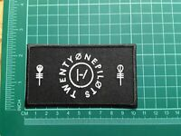 Twenty One 21 Pilots Patch Punk Rock Heavy Metal Pop Music Sew/Iron On Badge