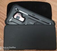 SAMSUNG GALAXY NOTE 9 LATHER BELT CLIP HOLSTER HOLDER CASE FIT A BULKY CASE ON