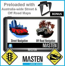 "-7""HD 4x4 GPS OziExplorer 4WD Australian Maps Topographic Portable Navi Off Road"