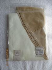 "Table Linens & Textiles Trendex Home White & Gold 70"" Round Tablecloth New inBag"