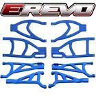 RPM Blue Complete Suspension A-Arm Set for Traxxas E-Revo 2.0 VXL Brushless
