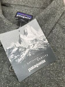 Vintage Patagonia Wool Shirt Men's XL Button Down Speckled Green Hiking New