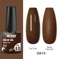 Mtssii Nail Art Gel Color Polish Soak-off Gel Manicure Gray Db10 Varnish 6ml