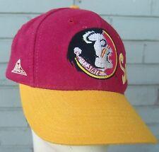Florida State Seminoles NCAA Indian Mascot VTG Baseball Style Cap Hat Snapback