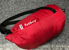 Fatboy Lamzac The Original Inflatable Air Lounger and Carry Bag (Red)