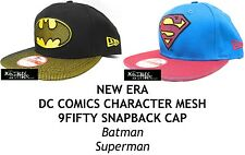 NEW ERA DC COMICS CHARACTER MESH 9FIFTY SNAPBACK CAP - BATMAN/SUPERMAN