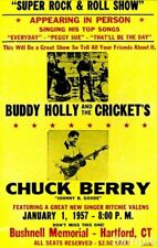 POSTER PRINT VINTAGE ADVERT MUSIC CONCERT ROCK ROLL CHUCK BERRY GUITAR SEB399