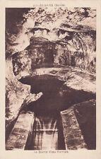 AIX-LES-BAINS la source d'eau thermale