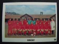 THE SUN FOOTBALL SWAP CARD 1970 / 71 Mint Condition.  No 36 Orient