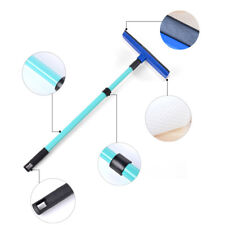 Telescopic Window Cleaning Squeegee Long Handle Cleaner Brush Car Wiper Sponge