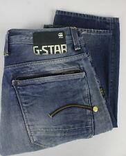 G-Star Raw Attacc Gerade Herren W34/L34 Dick Fade Effekt Jeans 23969-JS