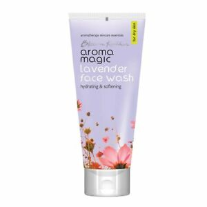 Aroma Magic Lavender Face Wash 100ml clean soothe & refresh & nourish your skin