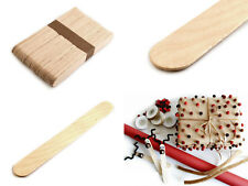 50 Holzspatel waxing basteln Bastelstäbchen Spatel 0,04€/St. Zerlegespiel
