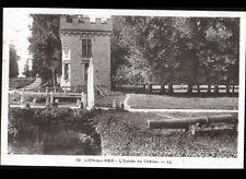 LION-sur-MER (14) CANON à l'entrée du CHATEAU , voyagée en 1938
