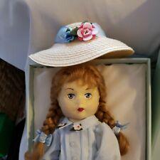"Madame Alexander Rare 12"" Doll ""Wendy Anne Felt""COA,Perfect Condition, box crack"
