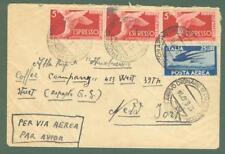 Storia postale. REPUBBLICA ITALIANA. Aereogramma del 18 Agosto 1847 da Palermo