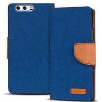 Schutzhülle Huawei P10 Plus Hülle Flip Case Handy Tasche Klapphülle Cover Etui