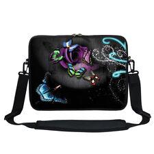 """Neoprene Laptop Bag w Hidden Handle & Shoulder Strap Fit Chromebook 11.6""""  2705"""