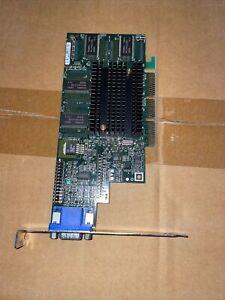 AGP card Matrox MGI G4+M4A32DG  VGA Video Card