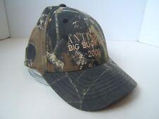 Anticosti Big Buck Hunt 2008 Camo Hat Camouflage Strapback Baseball Cap