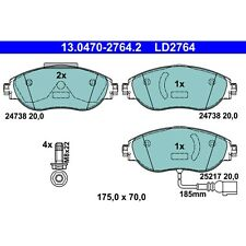 For Audi S3 VW CC Golf R GTI Front Brake Pad Set with Sensor ATE CERAMIC LD2764