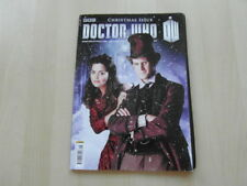 DOCTOR WHO Magazine 455 Christmas Issue + 3 Pictures  Matt Smith, Jenna Coleman
