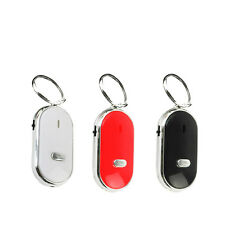 LED Key Finder Locator Find Lost Keys Chain Key chain Whistle Sound Control