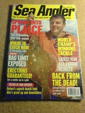 SEA ANGLER - PLAICE - March 1999