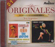 Trio Argentino 2 en 1 Los Originales Fumando espero,Consejo de oro CD New sealed