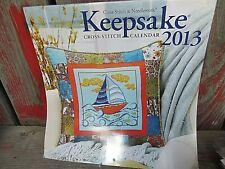 Cross Stitch Ndlwk KEEPSAKE CALENDAR 2013  13 Projects