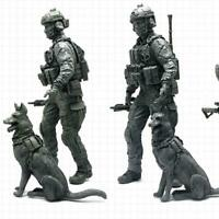 1pcs 1:35 Modern American Special Forces and Military Resin Soldier Model D K0G4