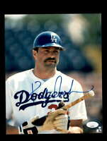 Kirk Gibson JSA Coa Signed 8x10 Dodgers Photo Autograph