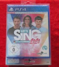 Let´s Sing 2020 Mit deutschen Hits, PlayStation 4 Spiel inkl. 2 Micros, Neu-OVP