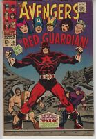 🔥THE AVENGERS # 43  FN+  KEY 1ST RED GUARDIAN BLACK WIDOW MOVIE CENTS 1967🔥
