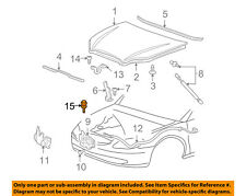 FORD OEM-Hood Rubber Bumper Cushion 4F1Z16758AA