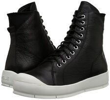 Ateljé 71 pour femme uk 5 noir & blanc nappa cuir maverick baskets bottes baskets