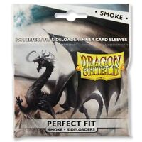 Dragon Shield Perfect Fit Smoke Sideloader Card Protector Sleeves 100ct ATM13123