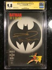 Batman Dark Knight Returns 3 cgc 9.8 Signed SSx2 Frank Miller / Klaus Janson