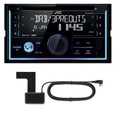 JVC KW-DB93BT 2-DIN CD MP3 DAB+ Autoradio USB Bluetooth inkl. DAB Antenne