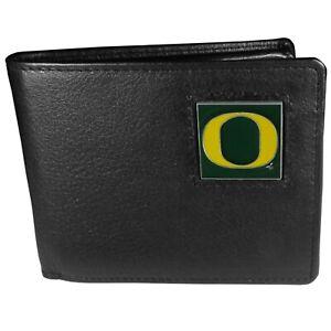 Oregon Ducks Leather Bi-fold Wallet