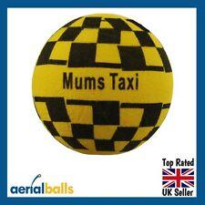 Fun ' Mums Taxi ' Car Aerial Ball  / Antenna Topper