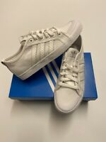Women's Adidas Originals Honey Low Canvas Trainers Shoes White Size UK 5 BNIB