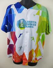 Alberta Juegos de verano 2016 atletismo Baloncesto Camisa De Deportes USA Jersey para hombre XL