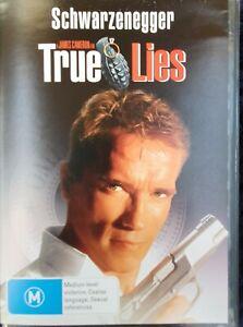 TRUE LIES DVD ARNOLD SCHWARZENEGGER (Pal, 1994) FREE POST