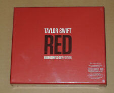 Taylor Swift Red Korean Valentine's Day Edition CD Box Set RARE New Sealed 1989