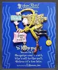 Roman Karen Rossi Jewelry Shopper Lapel Pin 5437742
