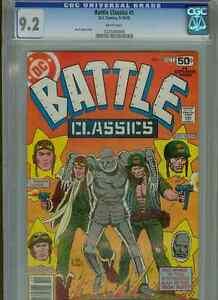 Battle Classics #1   (1st print)   CGC 9.2  WP