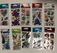 Marvel Trolls Star Wars Frozen YOU PICK! Lot 5pk SandyLion Collectible Stickers