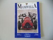 LA MANOVELLA 5/1991 GILERA 500 VTE GS/ALFA ROMEO 158/FIAT TURBINA/JAGUAR E-TYPE