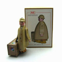 Tin Toy Tinplate Wind Classic Collectibles Model Vintage Desk Decor for Kids
